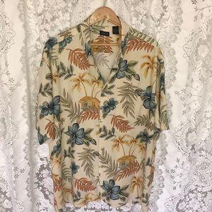 IZOD men's Hawaiian shirt